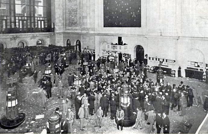 Work Of The Stock Exchange