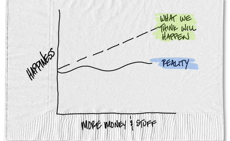More Money, More Success, More Stuff? Don't Count on More Happiness
