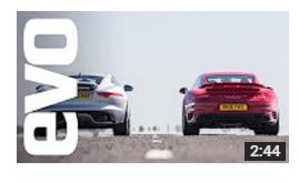 Jaguar F type R AWD vs Porsche 911 Turbo S