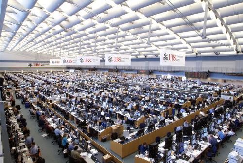 UBS trading floor 2008_0