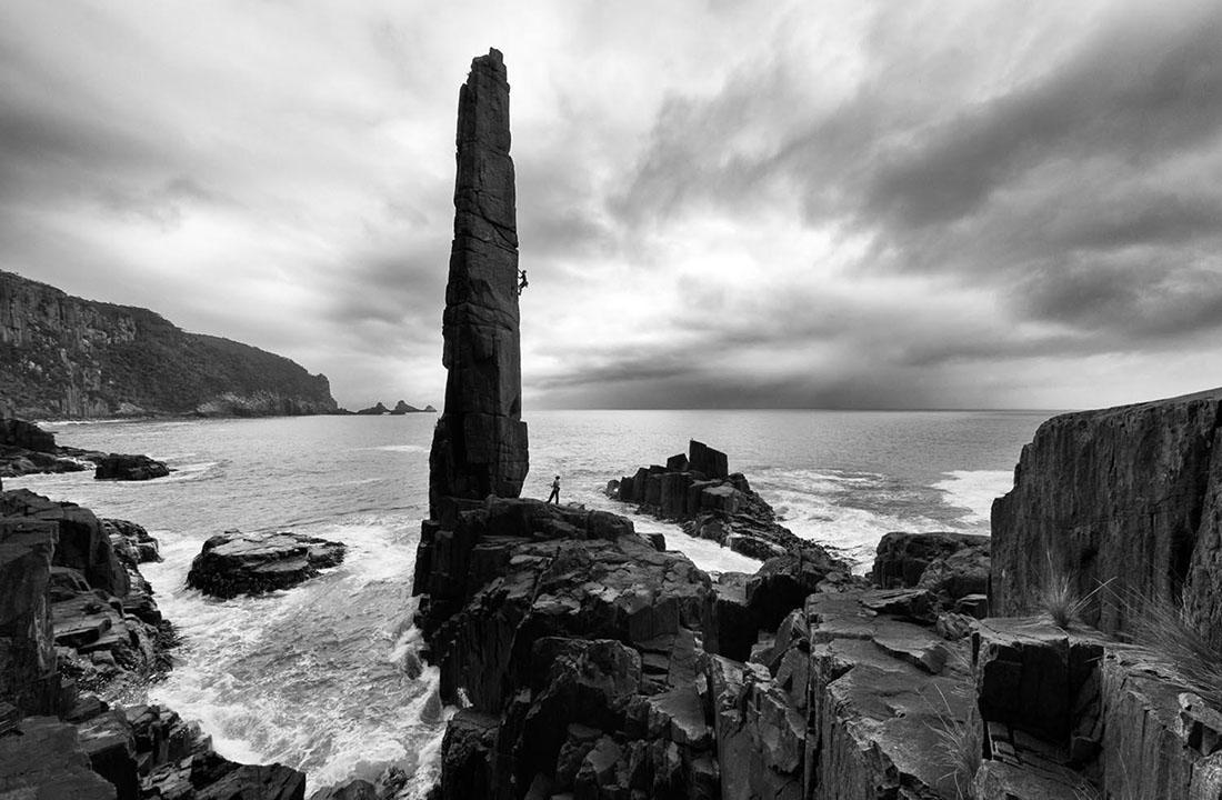 Photographer: Simon Carter Red Bull Illume 2016 Category: Enhance Athlete: Chris Hampton Location: Tasman Peninsula, Australia